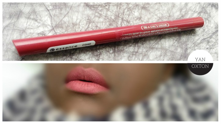essence longlasting lipliner 06 a girls dream