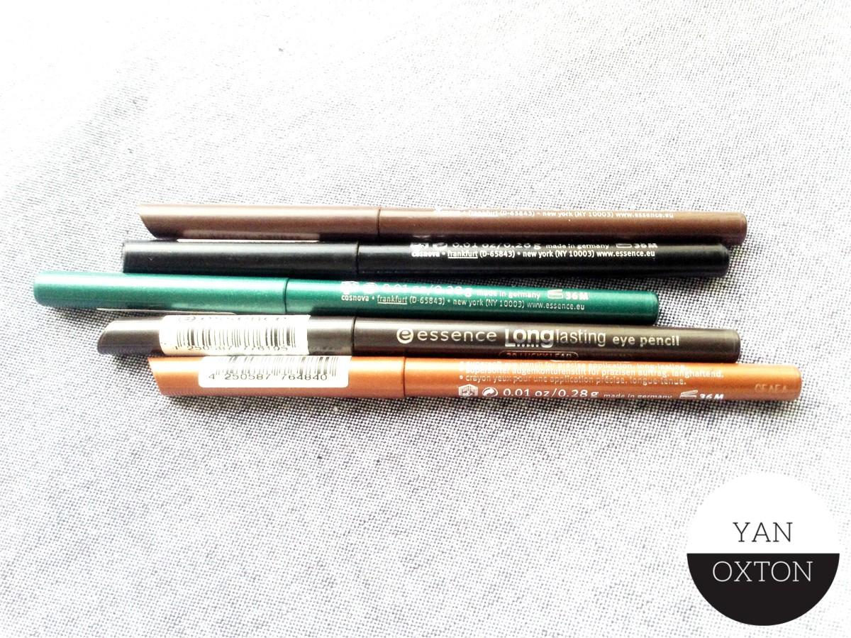 Mon regard sur les crayons longue tenue essence