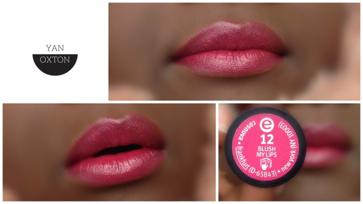 essence lipstick 12 blush my lips
