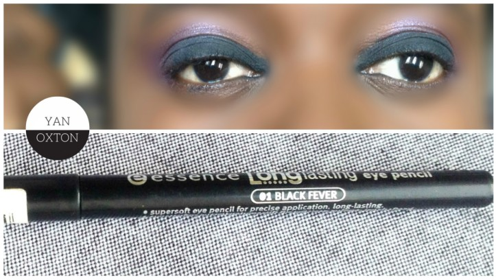 essence longlasting eye pencil 01 black fever