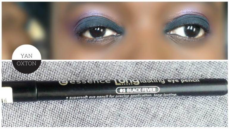 essence longlasting eye pencil 01 black fever