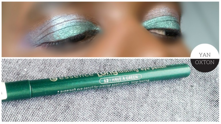 essence longlasting eye pencil 12 i have a green