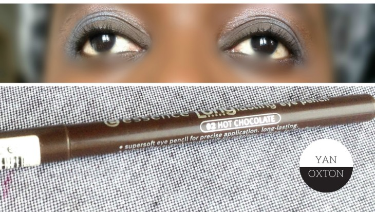 essence longlasting eyepencil 02 hot chocolate