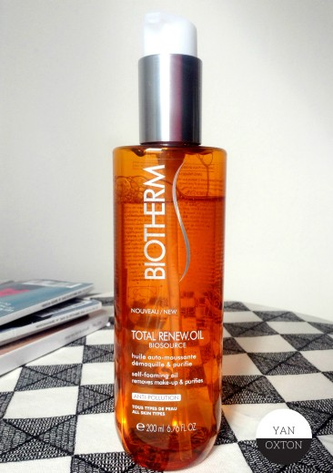 biotherm total renew oil biosource