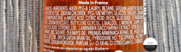 biotherm totam renew oil ingredients