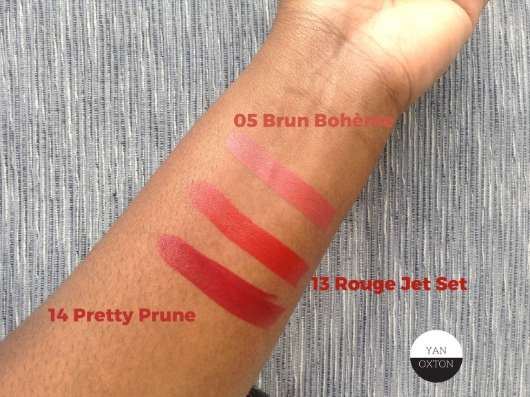 bourjois rouge edition 13 14 05 hand swatch