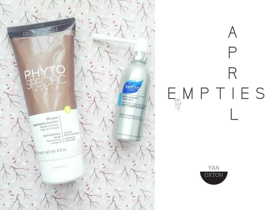 Empties // Produits terminés#14