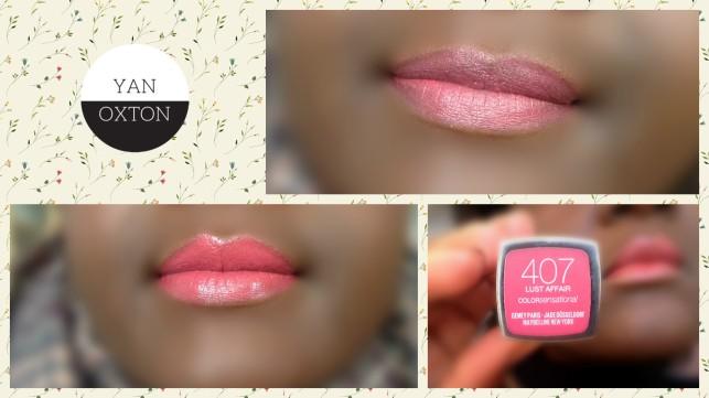 maybelline color sensational the blushed 407 lust affair