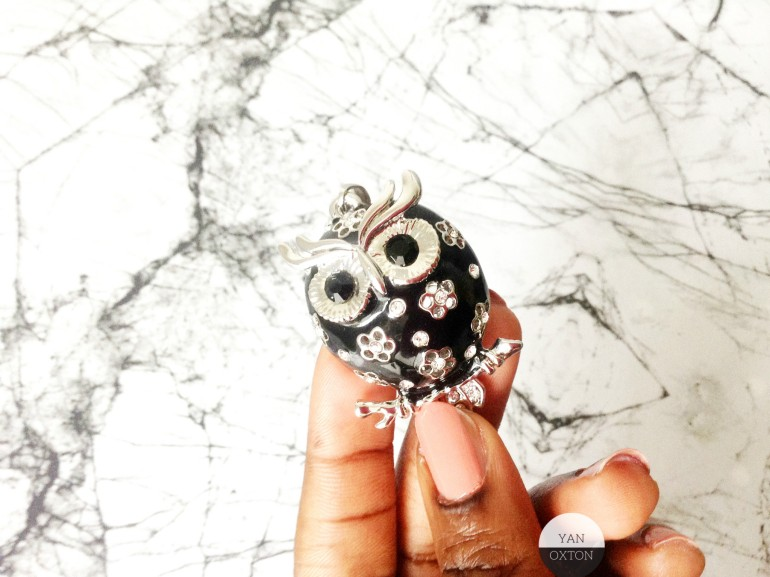 collier hibou breal