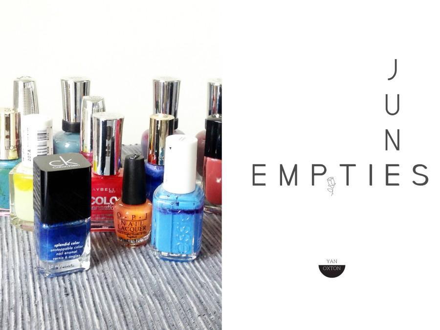Empties//Produits terminés #15