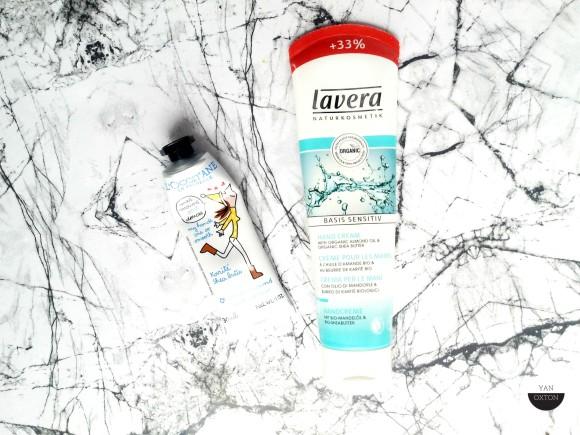 hydratation creme mains lavera loccitane