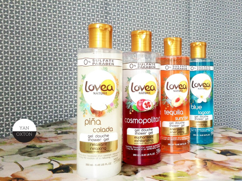 lovea nature gels douche