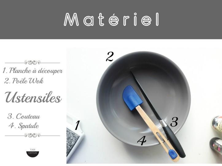 materiel cuisine