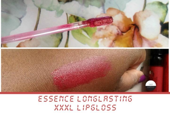 essence xxxl longlasting lipgloss