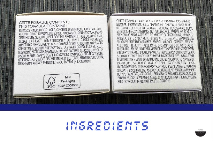 ingredients blue therapy accelerated cream