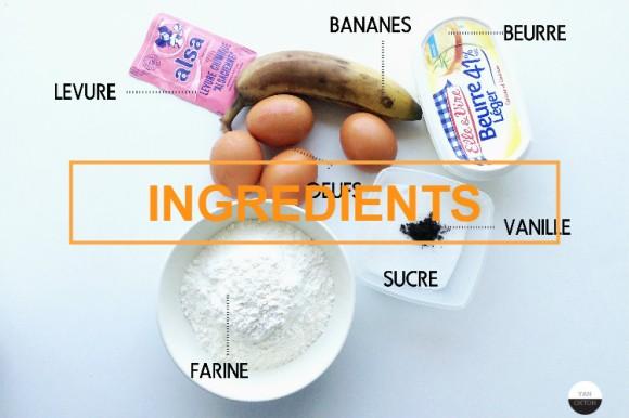 cake banane ingredients