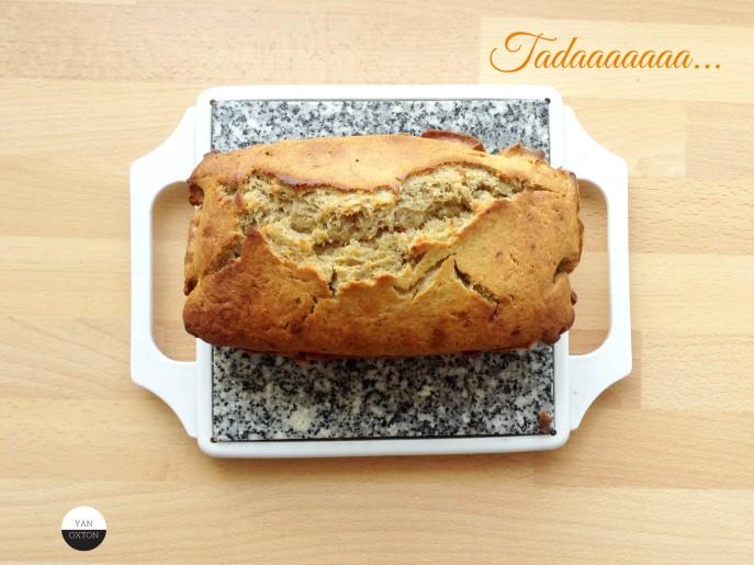 cake banane oxton yan recette