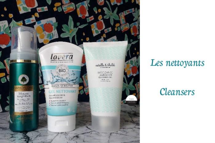 nettoyants lavera sanoflore estelle thild cleansers