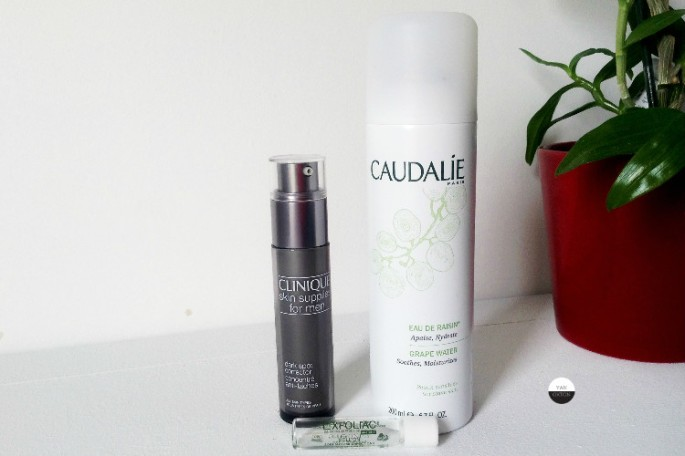 clinique-serum-caudalie-brume-noreva-exfoliac