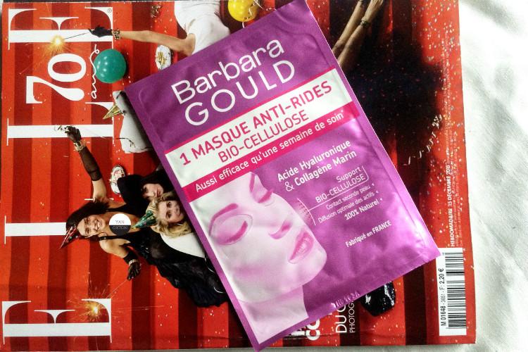 Masque Anti-rides Biocellulose Barbara Gould: letest