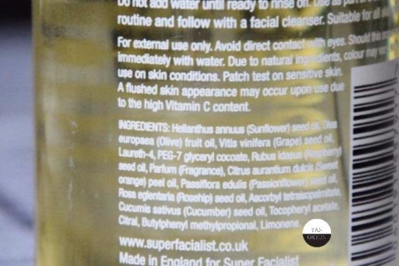 super-facialist-huile-demaquillante-vitamineC-una-brennan-ingredients